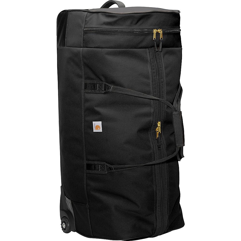 Carhartt Legacy 36 Wheeled Gear Bag Black Carhartt Softside Checked