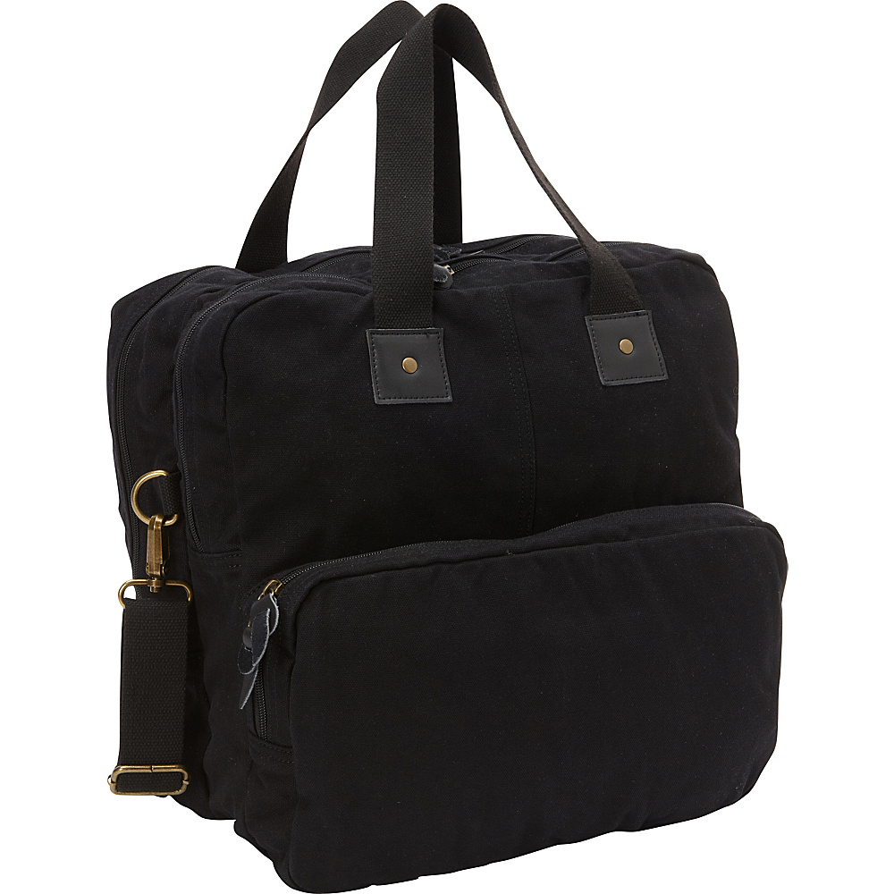 Vagabond Traveler Tall Casual 15 Shoulder Bag Black - Vagabond Traveler Messenger Bags - Work Bags & Briefcases, Messenger Bags