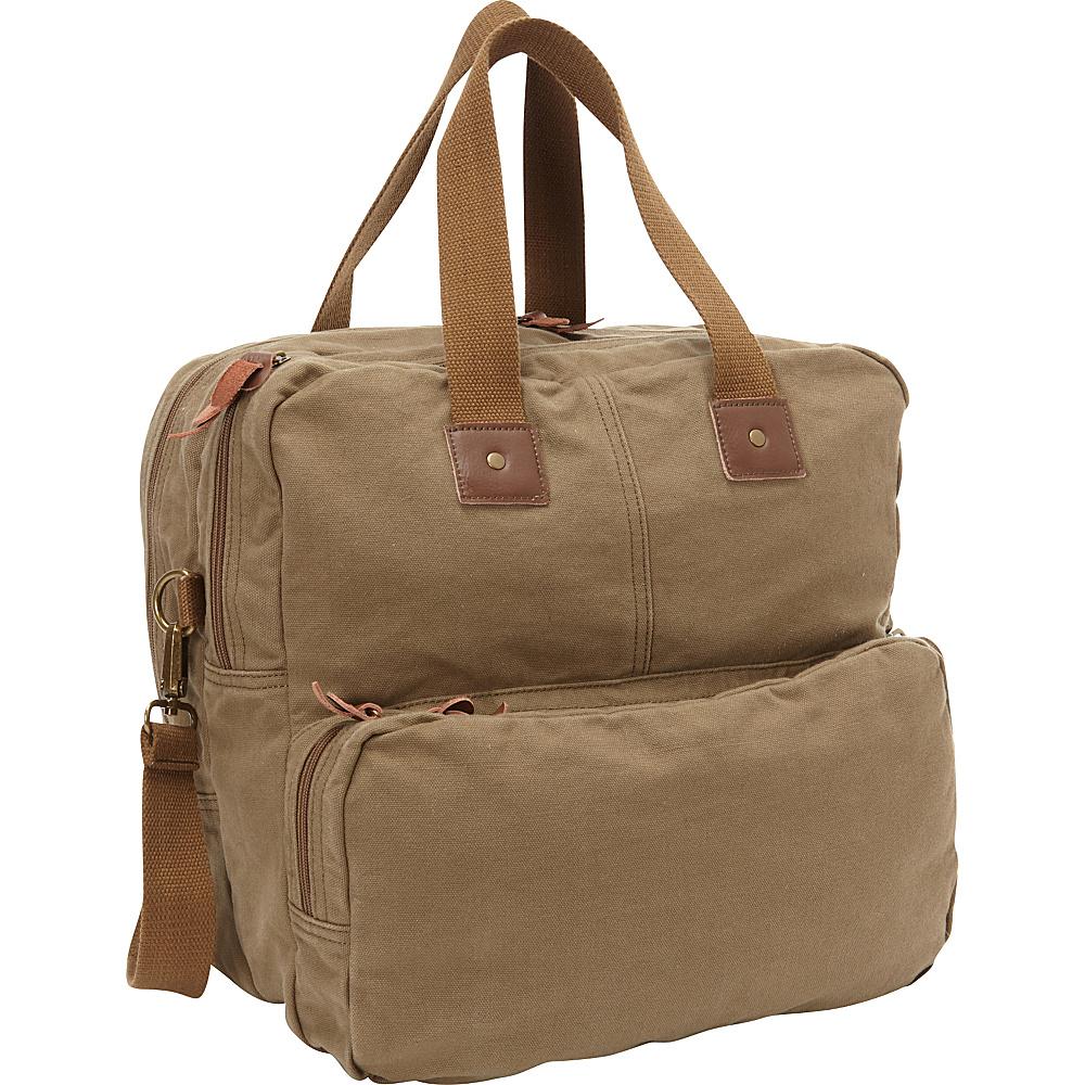 Vagabond Traveler Tall Casual 15 Shoulder Bag Military Green - Vagabond Traveler Messenger Bags - Work Bags & Briefcases, Messenger Bags