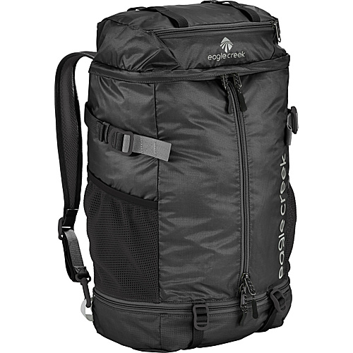 Eagle Creek 2-in-1 Backpack/Duffel Black - Eagle Creek Lightweight packable expandable bags
