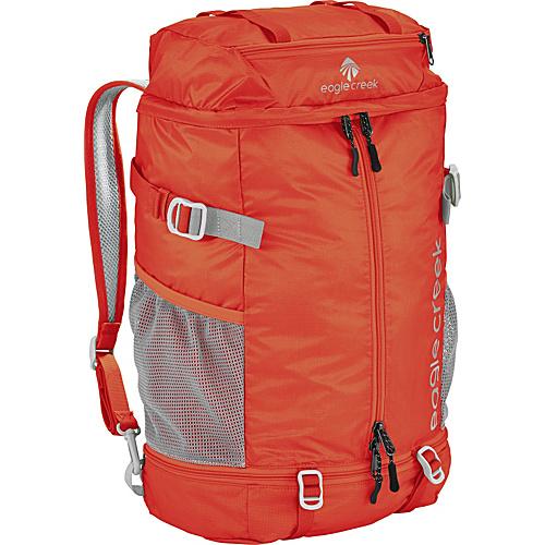 Eagle Creek 2-in-1 Backpack/Duffel Flame Orange - Eagle Creek Lightweight packable expandable bags