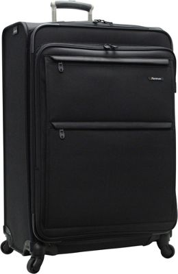 Pathfinder Revolution Plus 29 inch Exp Spinner W/ Suitor Black - Pathfinder Softside Checked