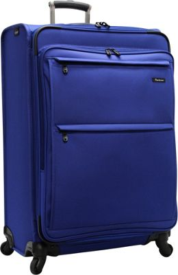 Pathfinder Revolution Plus 29 inch Exp Spinner W/ Suitor Blue - Pathfinder Softside Checked