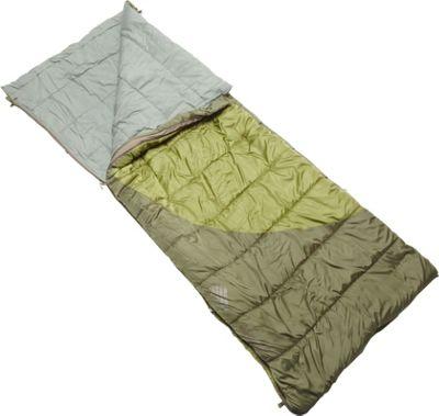 Kelty Tumbler 30/50 Degree Sleeping Bag - Regular RH Cypress Green - Kelty Outdoor Accessories
