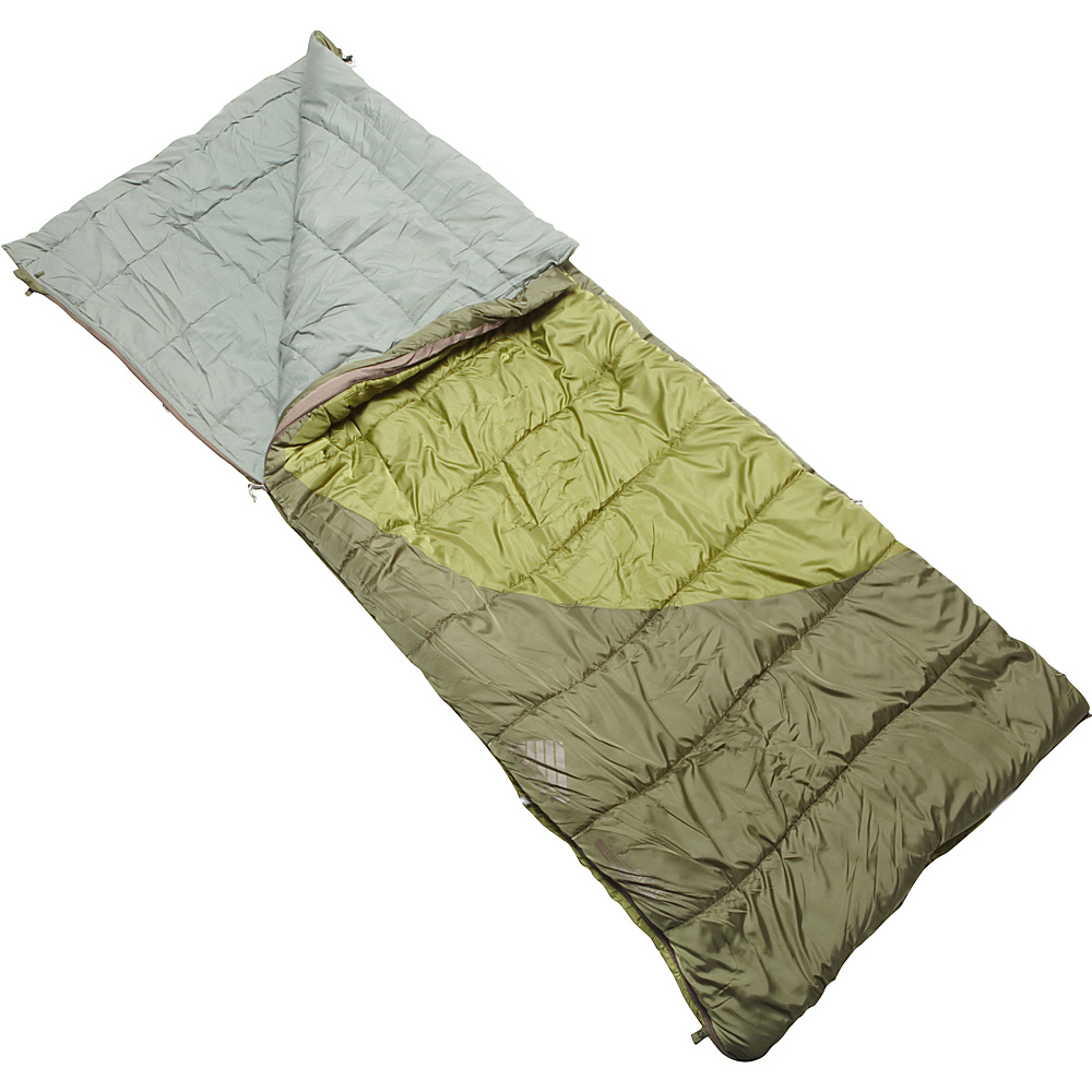 Kelty Tumbler 30 50 Degree Sleeping Bag Regular RH Cypress Green Kelty Outdoor Accessories