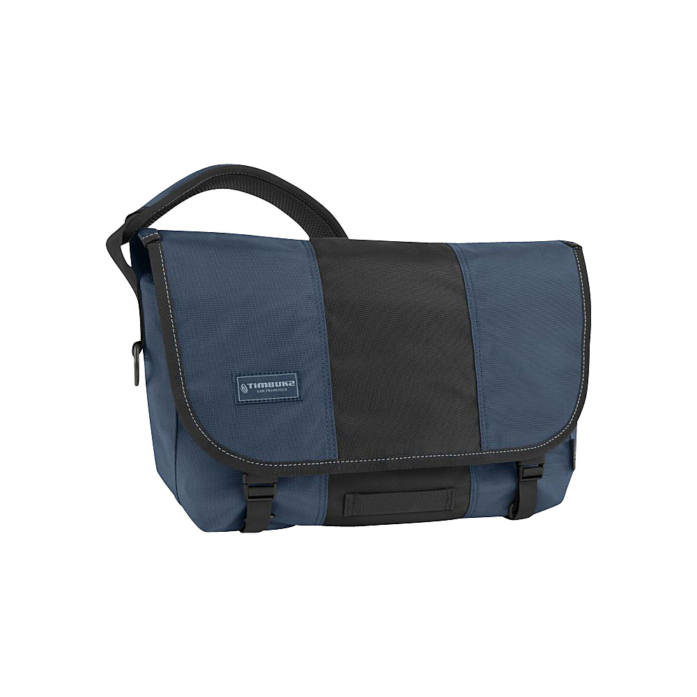 Timbuk2 Classic Messenger S Dusk Blue Black Timbuk2 Messenger Bags