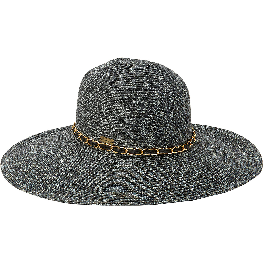 Sun N Sand Paper Braid One Size - Black - Sun N Sand Hats/Gloves/Scarves - Fashion Accessories, Hats/Gloves/Scarves