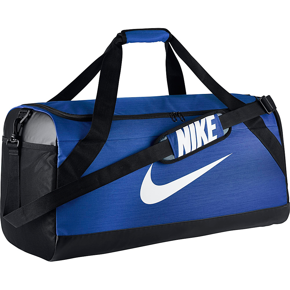 Nike Brasilia 6 Large Duffel Game Royal Black White Nike Gym Duffels