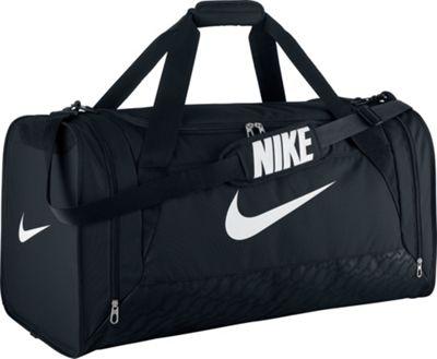 Nike Brasilia 6 Large Duffel Black/Black/White - Nike All Purpose Duffels
