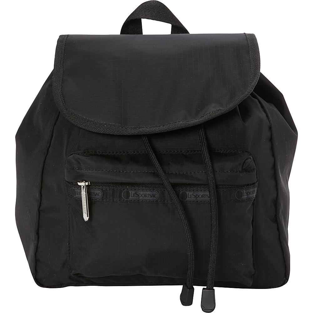 7e1b7b287fe LeSportsac Small Edie Backpack Black - LeSportsac Fabric Handbags -  10320312 by LeSportsac