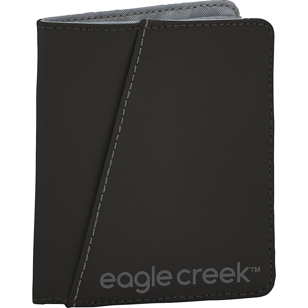 Eagle Creek Bi-Fold Wallet Vertical Black - Eagle Creek Mens Wallets - Work Bags & Briefcases, Men's Wallets