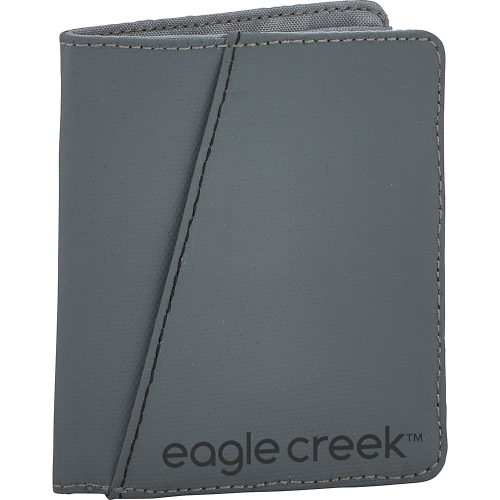 Eagle Creek Bi-Fold Wallet Vertical Stone Grey - Eagle Creek Mens Wallets - Work Bags & Briefcases, Men's Wallets