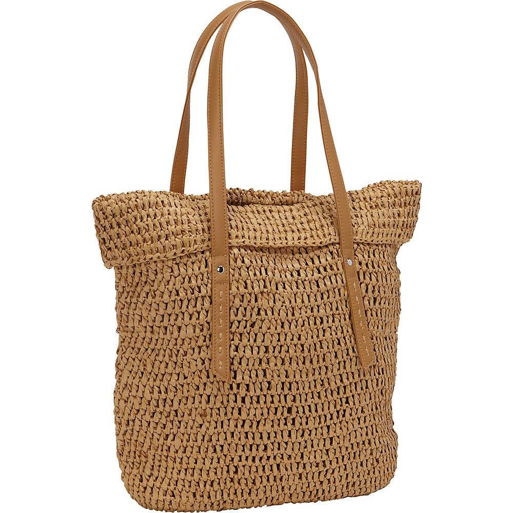 35.69 More Details · Magid Crochet Paper Straw TL Tote Toast - Magid Straw  Handbags 1ea2612ef7