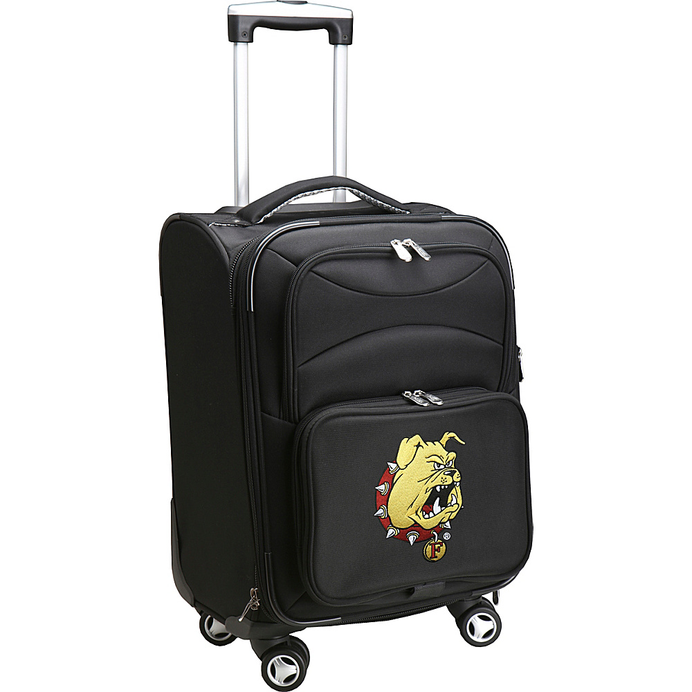 Denco Sports Luggage NCAA 20 Domestic Carry-On Spinner Ferris State University Bulldogs - Denco Sports Luggage Softside Carry-On - Luggage, Softside Carry-On