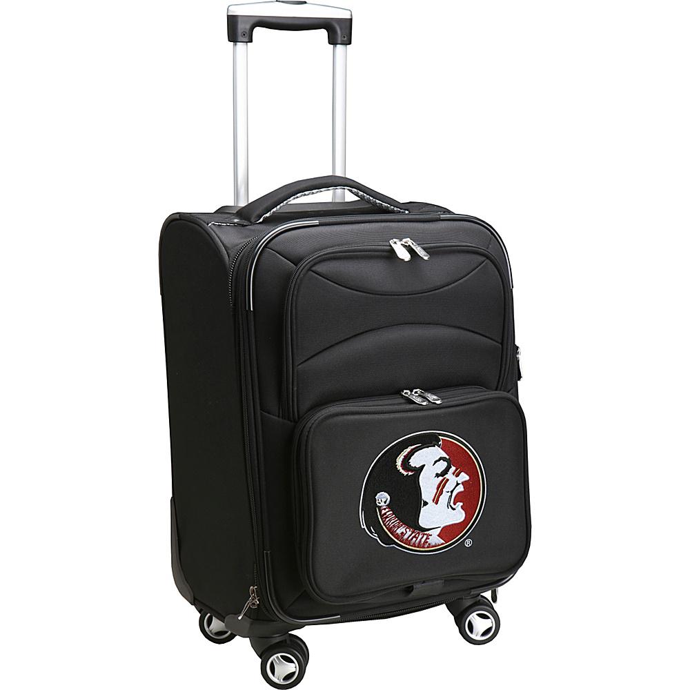 Denco Sports Luggage NCAA 20 Domestic Carry-On Spinner Florida State University Seminoles - Denco Sports Luggage Softside Carry-On - Luggage, Softside Carry-On