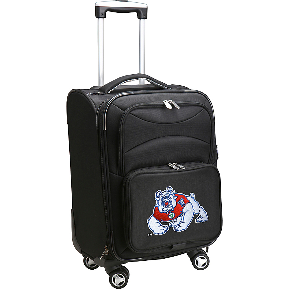 Denco Sports Luggage NCAA 20 Domestic Carry-On Spinner California State University, Fresno Bullsdogs - Denco Sports Luggage Softside Carry-On - Luggage, Softside Carry-On