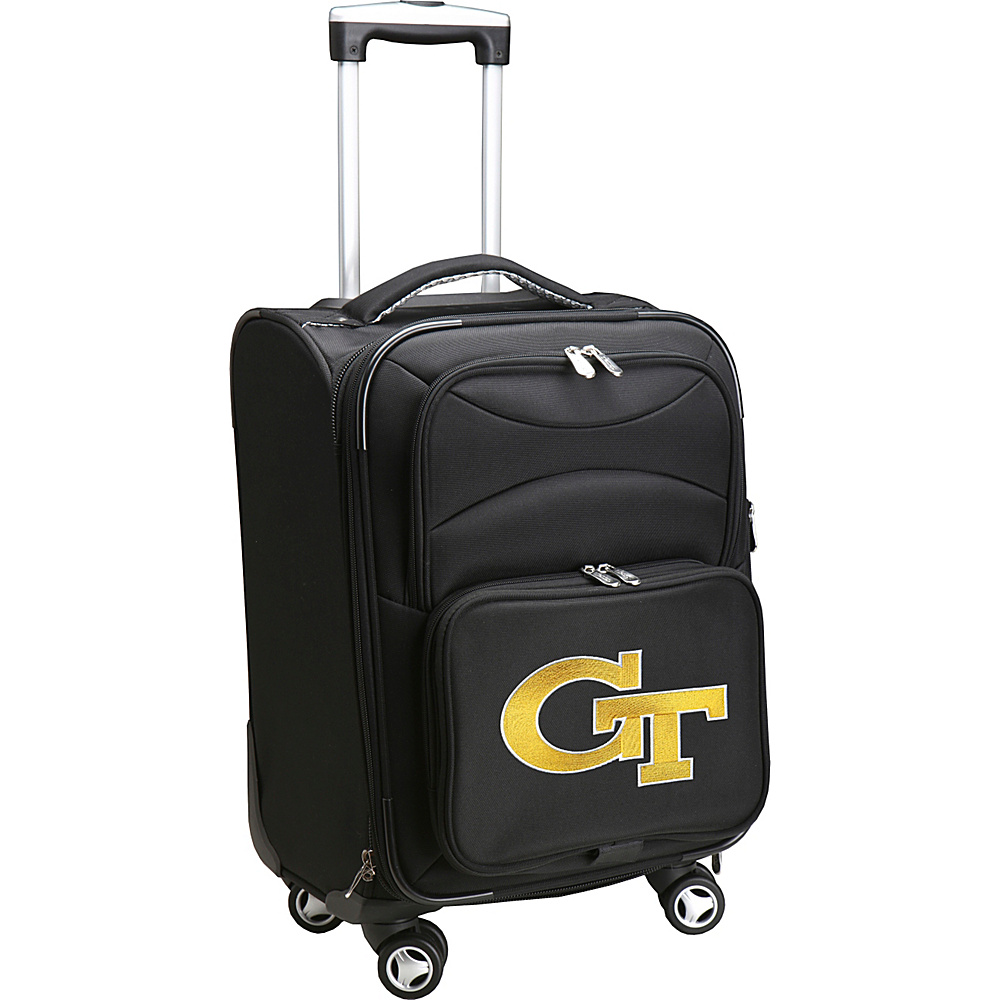Denco Sports Luggage NCAA 20 Domestic Carry-On Spinner Georgia Institute of Technology Yellow Jackets - Denco Sports Luggage Softside Carry-On - Luggage, Softside Carry-On