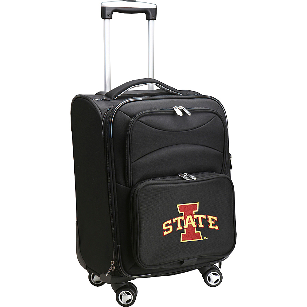 Denco Sports Luggage NCAA 20 Domestic Carry-On Spinner Iowa State University Cyclones - Denco Sports Luggage Softside Carry-On - Luggage, Softside Carry-On