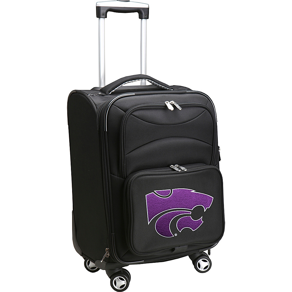 Denco Sports Luggage NCAA 20 Domestic Carry-On Spinner Kansas State University Wildcats - Denco Sports Luggage Softside Carry-On - Luggage, Softside Carry-On
