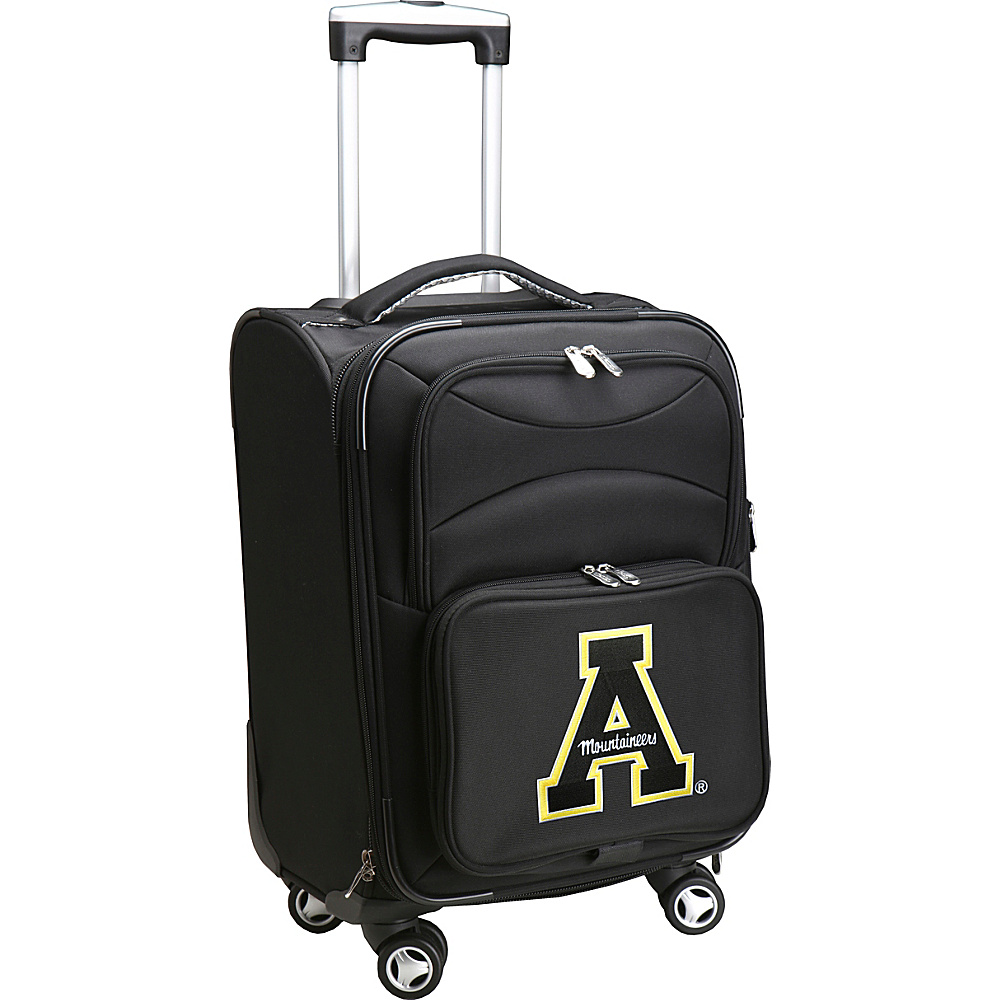 Denco Sports Luggage NCAA 20 Domestic Carry-On Spinner Appalachian State University Mountaineers - Denco Sports Luggage Softside Carry-On - Luggage, Softside Carry-On
