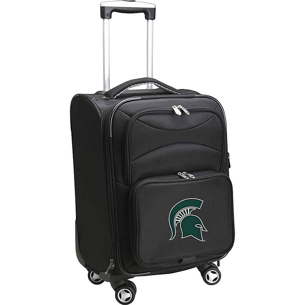 Denco Sports Luggage NCAA 20 Domestic Carry-On Spinner Michigan State University Spartans - Denco Sports Luggage Softside Carry-On - Luggage, Softside Carry-On