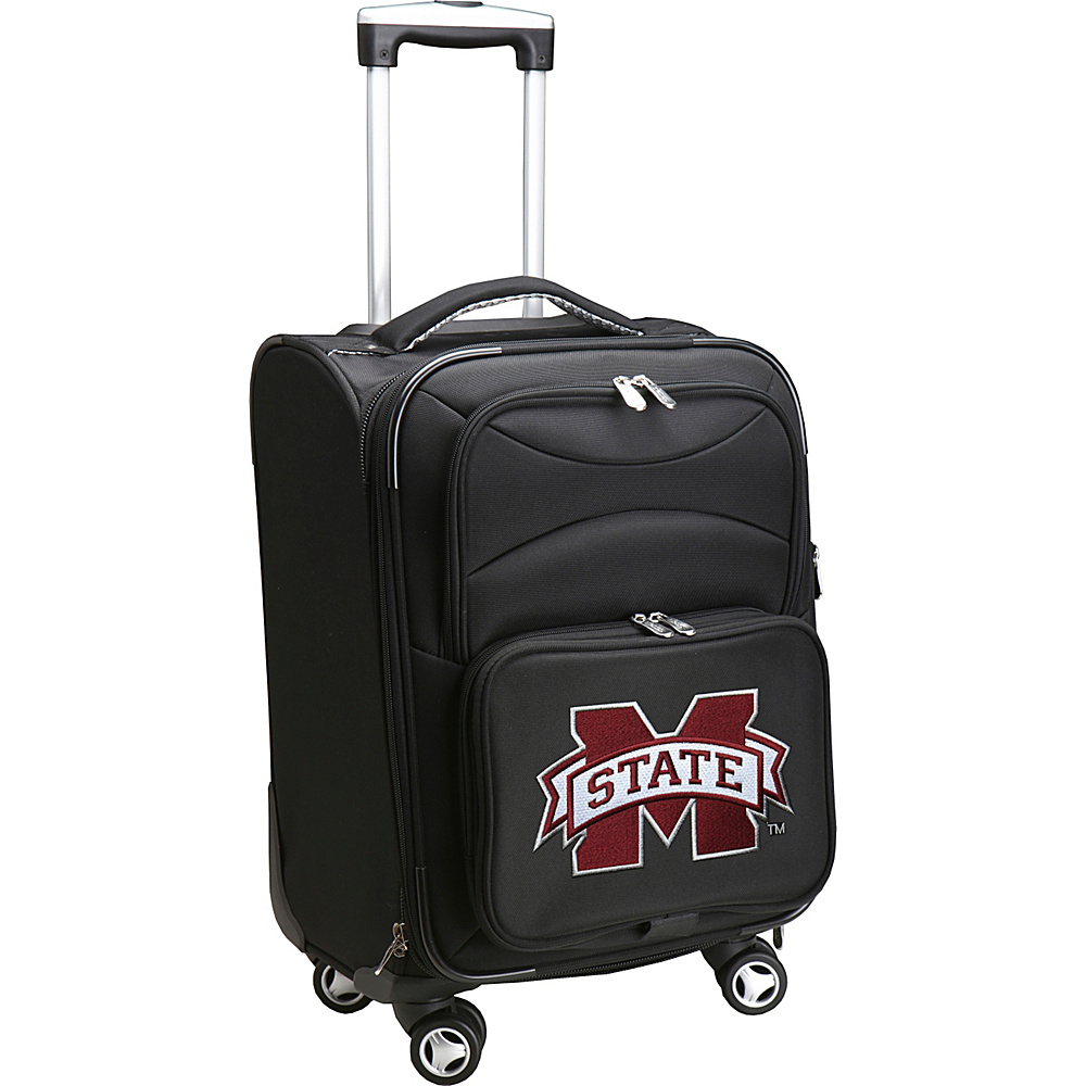 Denco Sports Luggage NCAA 20 Domestic Carry-On Spinner Mississippi State University Bulldogs - Denco Sports Luggage Softside Carry-On - Luggage, Softside Carry-On