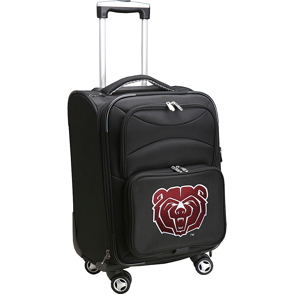 Denco Sports Luggage NCAA 20 Domestic Carry-On Spinner Missouri State University Bears - Denco Sports Luggage Softside Carry-On - Luggage, Softside Carry-On