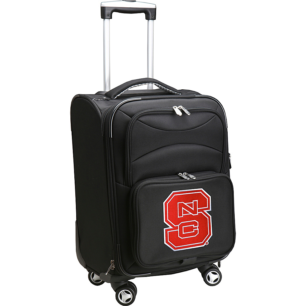 Denco Sports Luggage NCAA 20 Domestic Carry-On Spinner North Carolina State University Wolfpack - Denco Sports Luggage Softside Carry-On - Luggage, Softside Carry-On