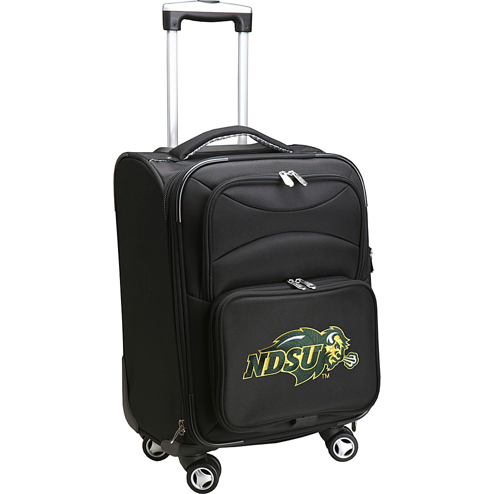 Denco Sports Luggage NCAA 20 Domestic Carry-On Spinner North Dakota State University Bison - Denco Sports Luggage Softside Carry-On - Luggage, Softside Carry-On