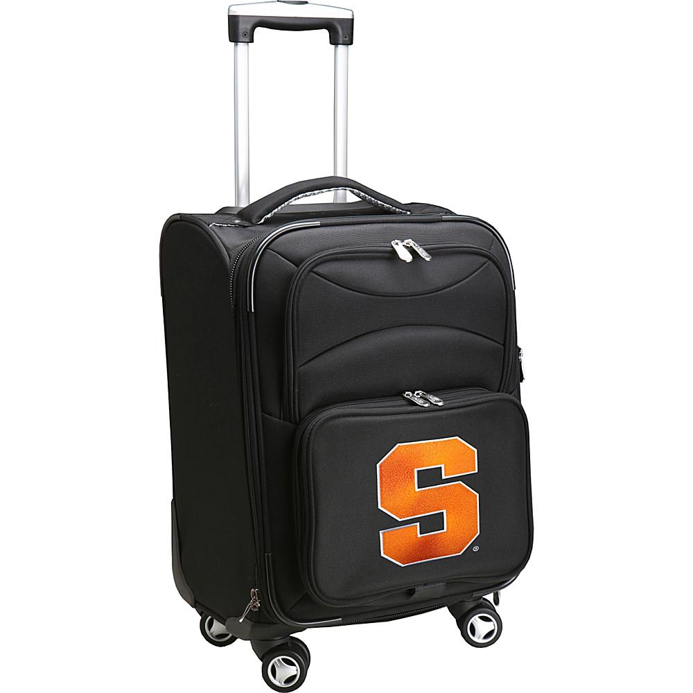 Denco Sports Luggage NCAA 20 Domestic Carry-On Spinner Syracuse University Orange - Denco Sports Luggage Softside Carry-On - Luggage, Softside Carry-On
