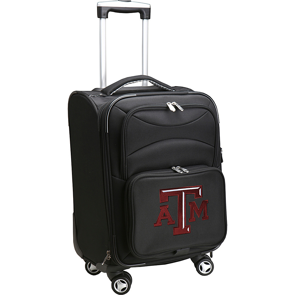 Denco Sports Luggage NCAA 20 Domestic Carry-On Spinner Texas A&M University Aggies - Denco Sports Luggage Softside Carry-On - Luggage, Softside Carry-On