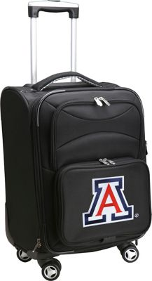 "Denco Sports Luggage NCAA 20"""" Domestic Carry-On Spinner University of Arizona Wildcats - Denco Sports Luggage Softside Carry-On"