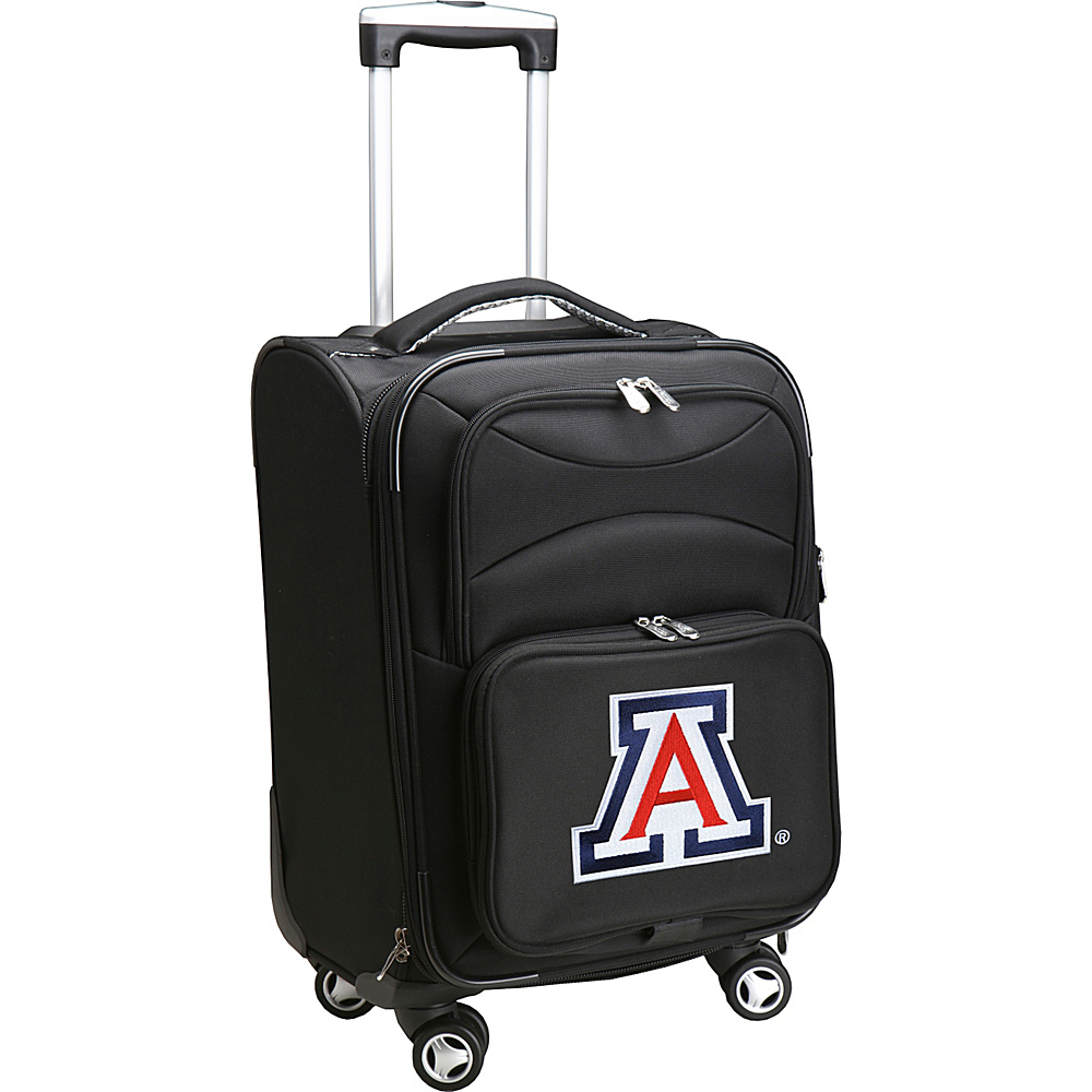 Denco Sports Luggage NCAA 20 Domestic Carry-On Spinner University of Arizona Wildcats - Denco Sports Luggage Softside Carry-On - Luggage, Softside Carry-On