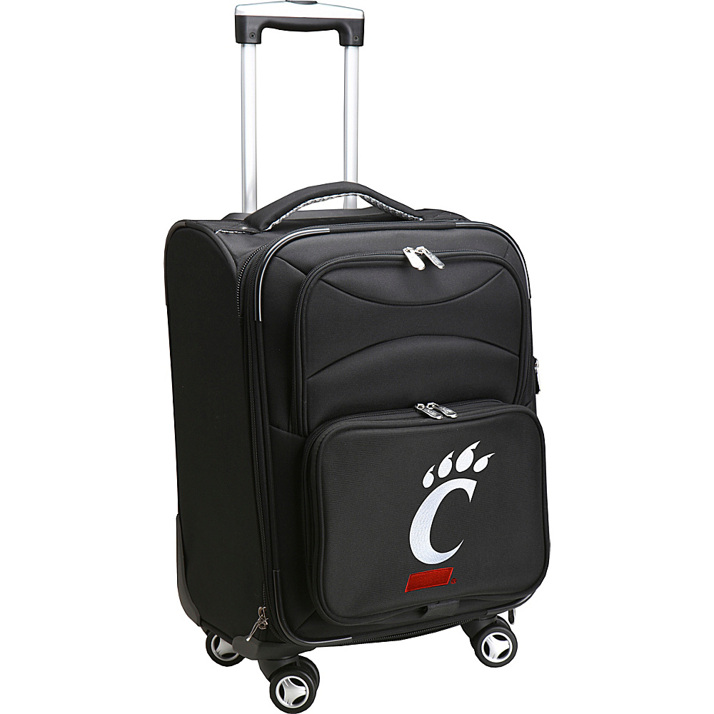 Denco Sports Luggage NCAA 20 Domestic Carry-On Spinner University of Cincinnati Bearcats - Denco Sports Luggage Softside Carry-On - Luggage, Softside Carry-On
