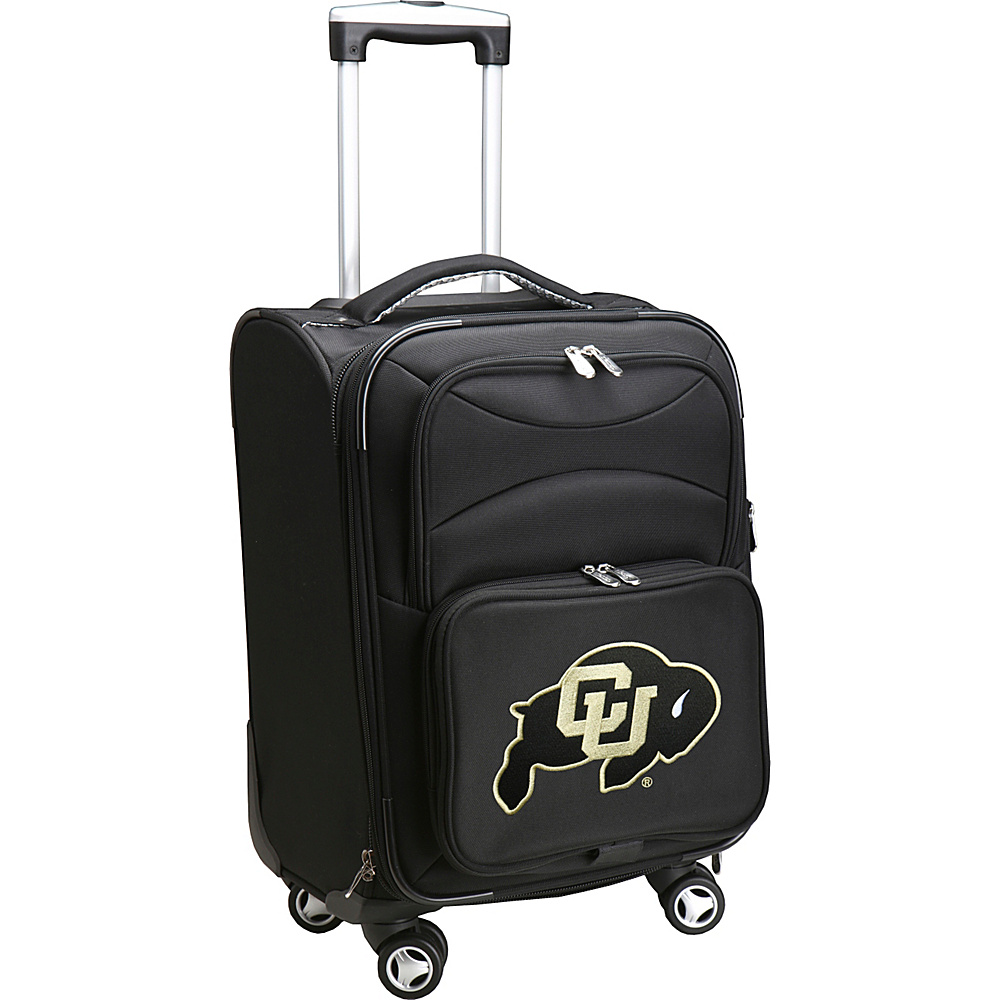 Denco Sports Luggage NCAA 20 Domestic Carry-On Spinner University of Colorado Boulder Buffaloes - Denco Sports Luggage Softside Carry-On - Luggage, Softside Carry-On