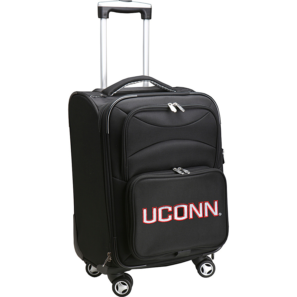 Denco Sports Luggage NCAA 20 Domestic Carry-On Spinner University of Connecticut Huskies - Denco Sports Luggage Softside Carry-On - Luggage, Softside Carry-On