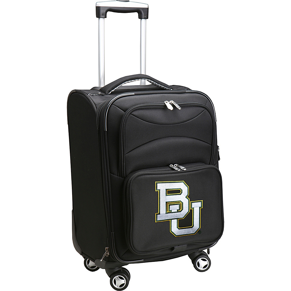 Denco Sports Luggage NCAA 20 Domestic Carry-On Spinner Baylor University Bears - Denco Sports Luggage Softside Carry-On - Luggage, Softside Carry-On