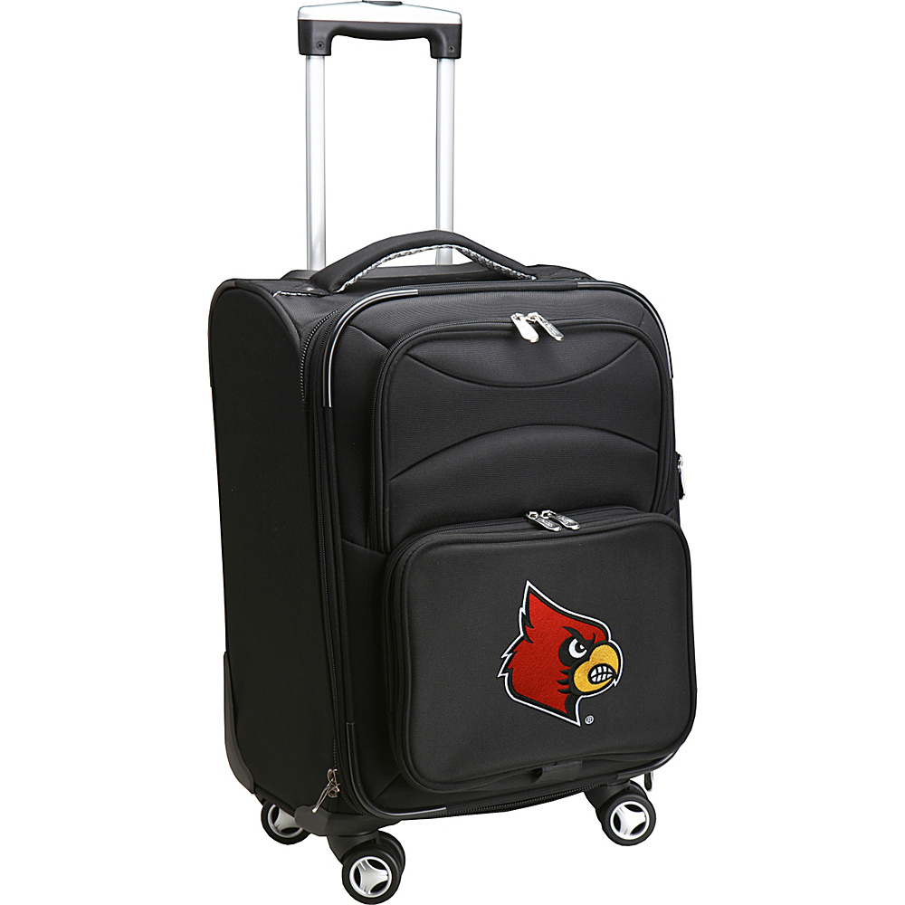 Denco Sports Luggage NCAA 20 Domestic Carry-On Spinner University of Louisville Cardinals - Denco Sports Luggage Softside Carry-On - Luggage, Softside Carry-On