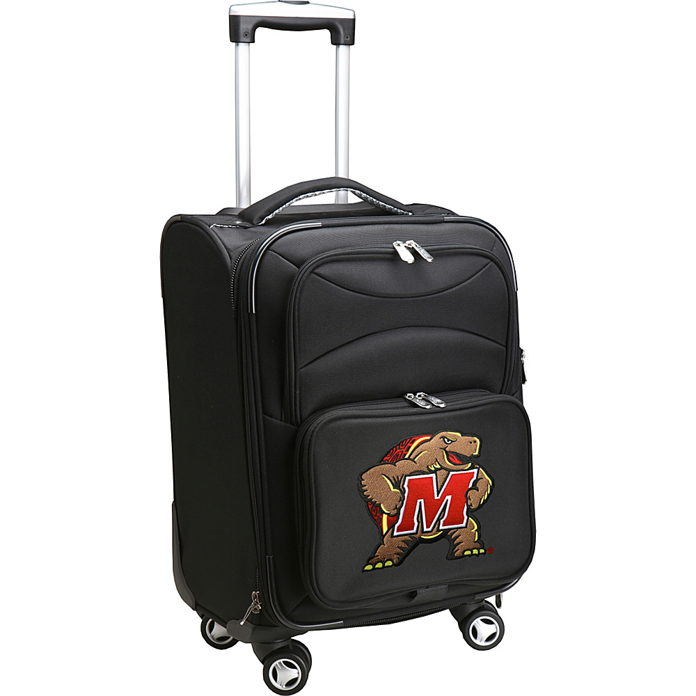 Denco Sports Luggage NCAA 20 Domestic Carry-On Spinner University of Maryland, College Park Terrapins - Denco Sports Luggage Softside Carry-On - Luggage, Softside Carry-On