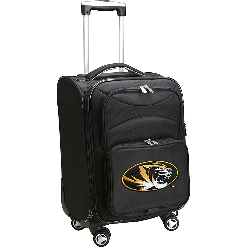Denco Sports Luggage NCAA 20 Domestic Carry-On Spinner University of Missouri Tigers - Denco Sports Luggage Softside Carry-On - Luggage, Softside Carry-On