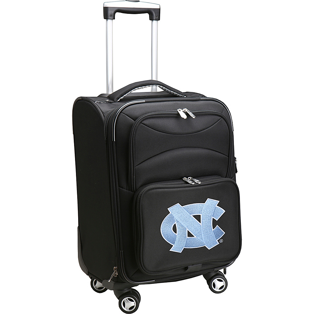 Denco Sports Luggage NCAA 20 Domestic Carry-On Spinner University of North Carolina at Chapel Hill Tar He - Denco Sports Luggage Softside Carry-On - Luggage, Softside Carry-On