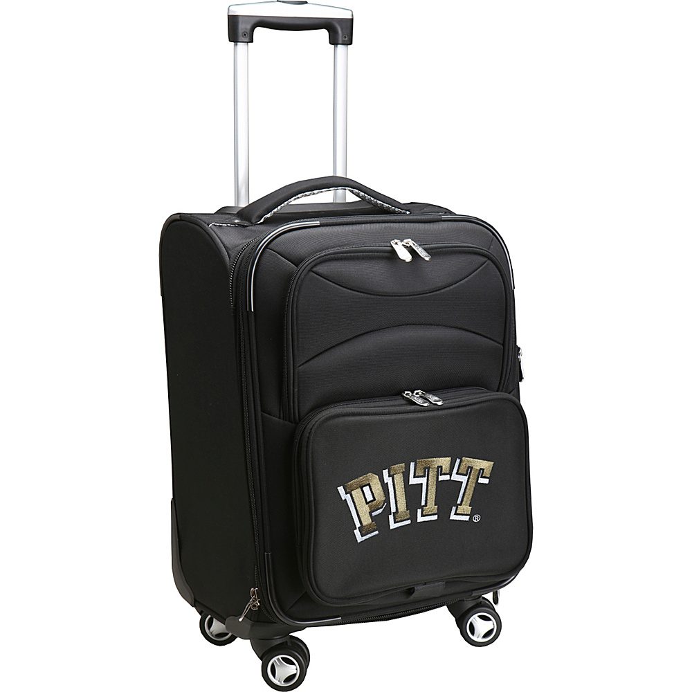 Denco Sports Luggage NCAA 20 Domestic Carry-On Spinner University of Pittsburgh Panthers - Denco Sports Luggage Softside Carry-On - Luggage, Softside Carry-On