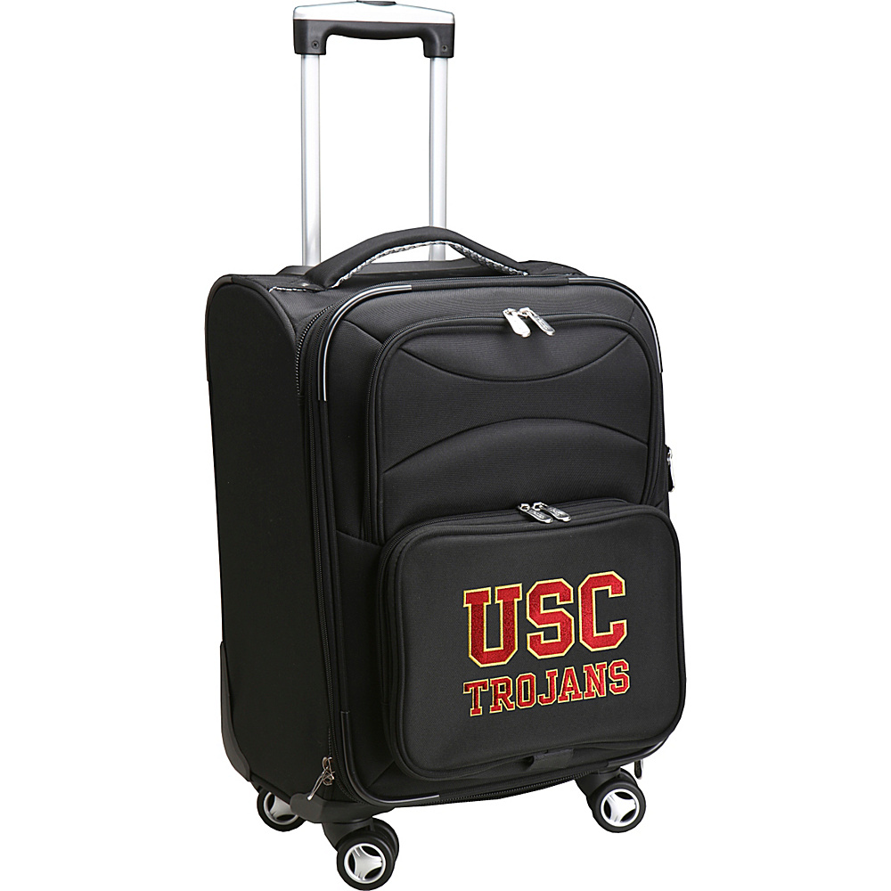 Denco Sports Luggage NCAA 20 Domestic Carry-On Spinner University of Southern California Trojans - Denco Sports Luggage Softside Carry-On - Luggage, Softside Carry-On