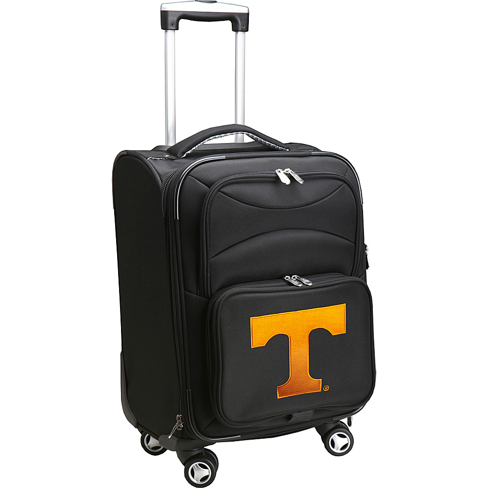 Denco Sports Luggage NCAA 20 Domestic Carry-On Spinner University of Tennessee Volunteers - Denco Sports Luggage Softside Carry-On - Luggage, Softside Carry-On