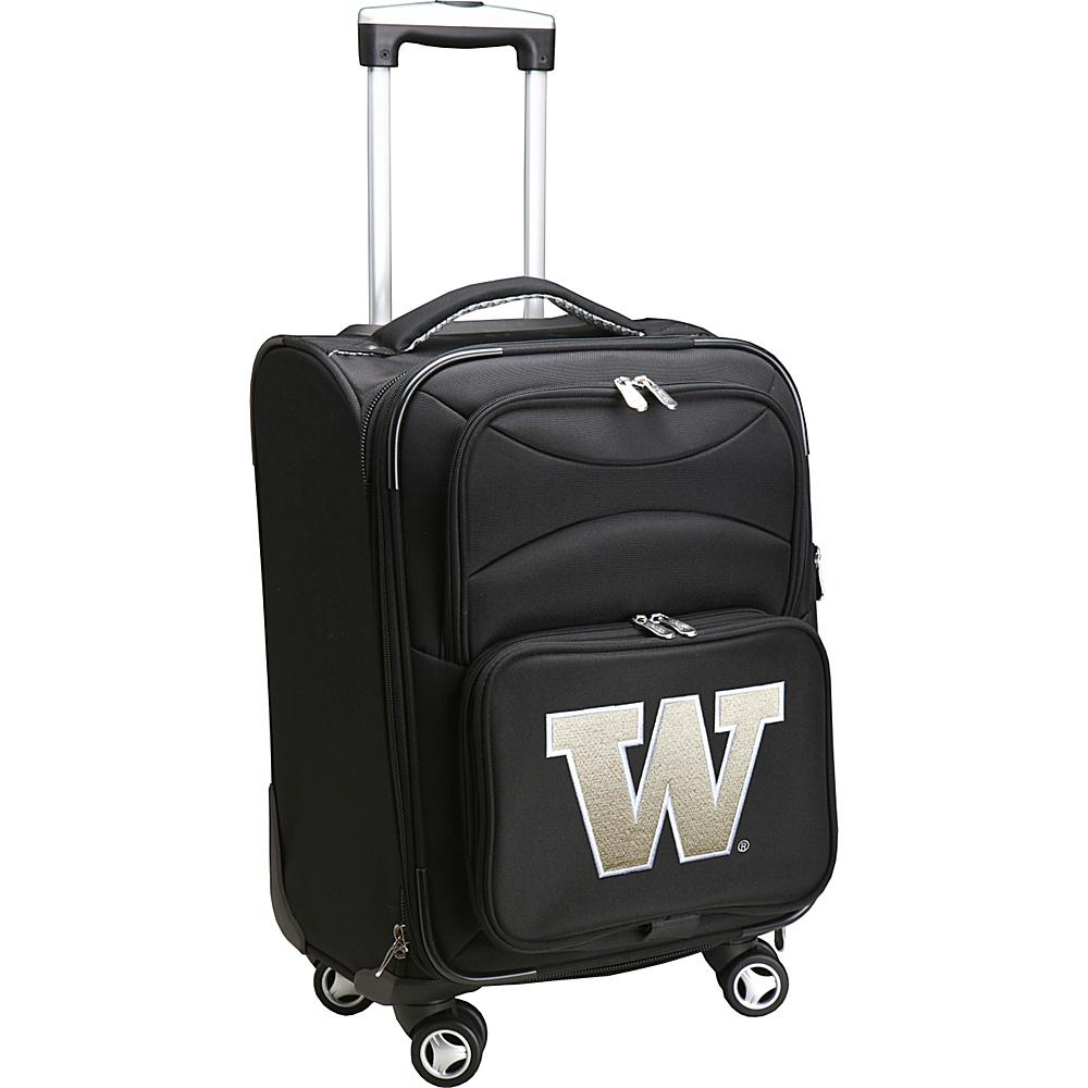 Denco Sports Luggage NCAA 20 Domestic Carry-On Spinner University of Washington Huskies - Denco Sports Luggage Softside Carry-On - Luggage, Softside Carry-On