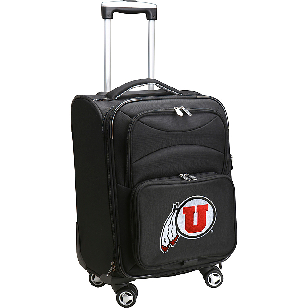 Denco Sports Luggage NCAA 20 Domestic Carry-On Spinner University of Utah Utes - Denco Sports Luggage Softside Carry-On - Luggage, Softside Carry-On