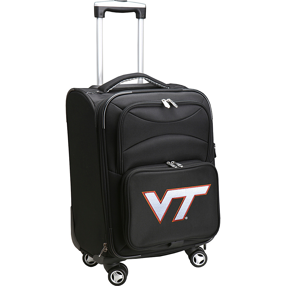 Denco Sports Luggage NCAA 20 Domestic Carry-On Spinner Virginia Tech Hokies - Denco Sports Luggage Softside Carry-On - Luggage, Softside Carry-On