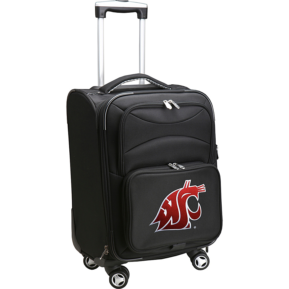 Denco Sports Luggage NCAA 20 Domestic Carry-On Spinner Washington State University Cougars - Denco Sports Luggage Softside Carry-On - Luggage, Softside Carry-On