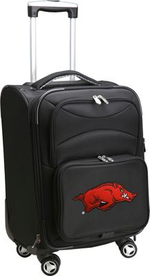 "Denco Sports Luggage NCAA 20"""" Domestic Carry-On Spinner University of Arkansas Razorbacks - Denco Sports Luggage Softside Carry-On"