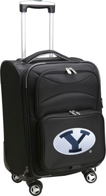 "Denco Sports Luggage NCAA 20"""" Domestic Carry-On Spinner Brigham Young University Cougars - Denco Sports Luggage Softside Carry-On"